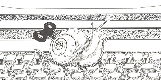 Wind-Up Snail