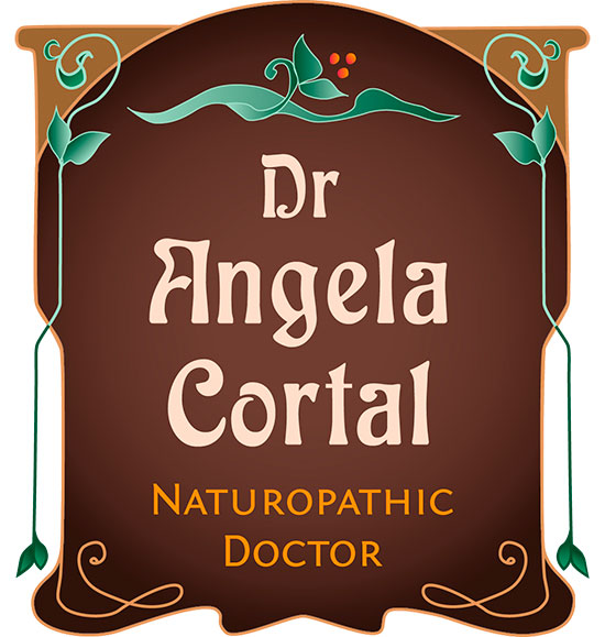 Angela Cortal ND branding package