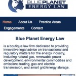 Blue Planet Energy Law