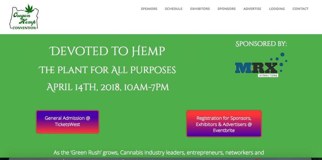 Oregon Hemp Convention (aka PDX HempFest Expo)