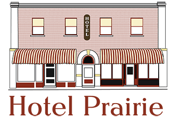 Hotel Prairie Logo and Business Cards
