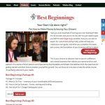 Better, Smarter, Richer coaching website and cart