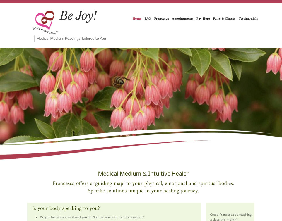 Be-Joy! Medical Intuitive